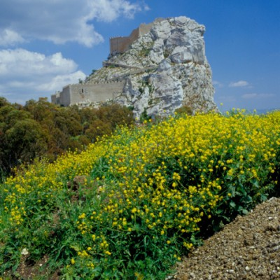 Fortress Rock #2, Sicily, Italy 06 – Color