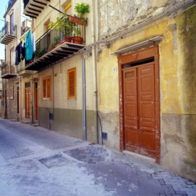 Sicilian Street, Sicily, Italy 06 – Color