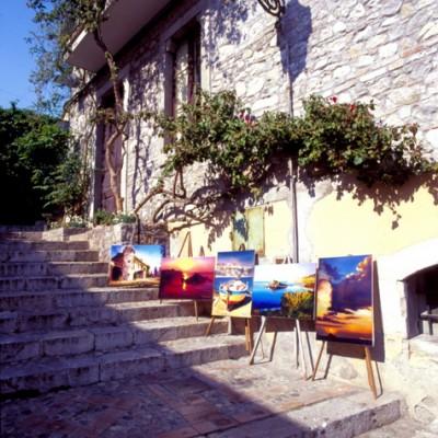 Stairway Of Art, Taormina, Sicily, Italy 06 – Color