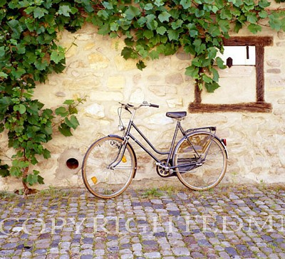 Bicycle, Turckheim, France 99 – Color