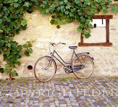 Bicycle, Turckheim, France 99 – Color