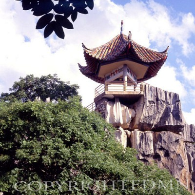 Pagoda, Kunming, China – Color