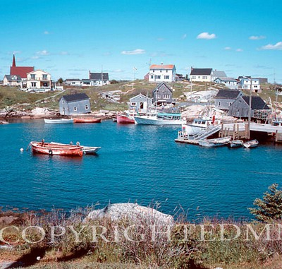 Peggys Cove #1, Nova Scotia – Color