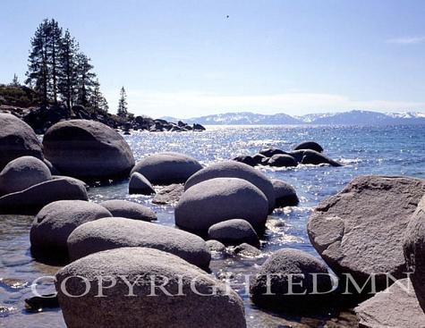 Sand Harbor Beach, Lake Tahoe, Nevada – Color