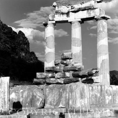 Greek Columns, Delphi, Greece 91