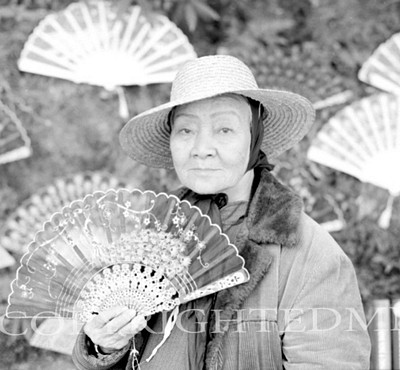 Lady With Fan, China 90