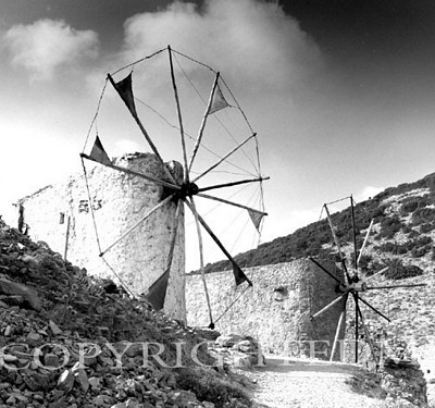 Windmills Of Lathisi, Crete, Greece 91