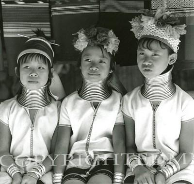 Long Neck Children, Chiang Rai, Thailand 03