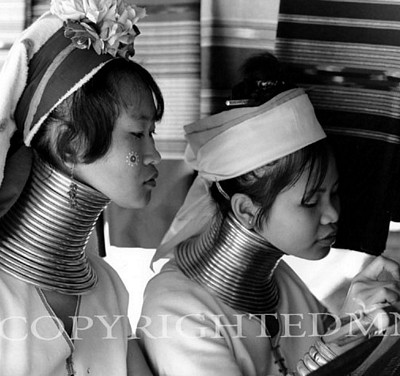 Long Neck Women, Chaing Rai, Thailand 03