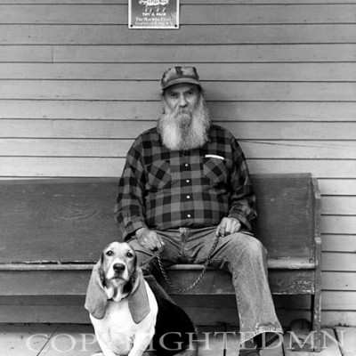 Man & Dog, Knoxville, Tennessee 93