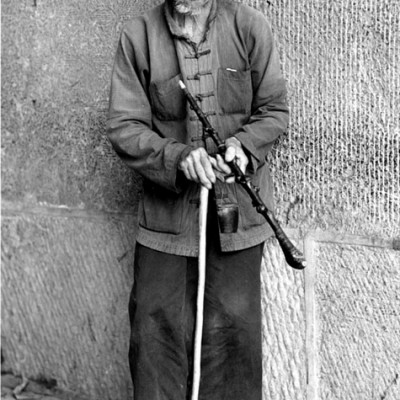 Man With Cane, Guilin, China 91