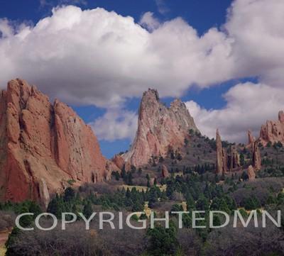 Garden of the Gods, Colorado Springs, Colorado 96 - Color