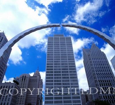 Detroit Downtown #1, Michigan 04