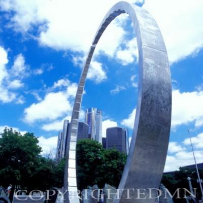 Detroit Downtown #2, Michigan 04