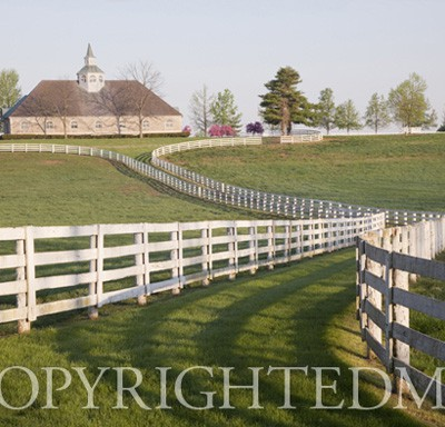 Fence & Farm #1, Lexington, Kentucky 10-Color