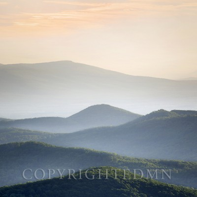 Blue Ridge Mountains, Great Smokey Mountians, Tennessee 13-Color