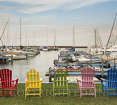 Five Chairs, Port Sanilac, Michigan 14-color