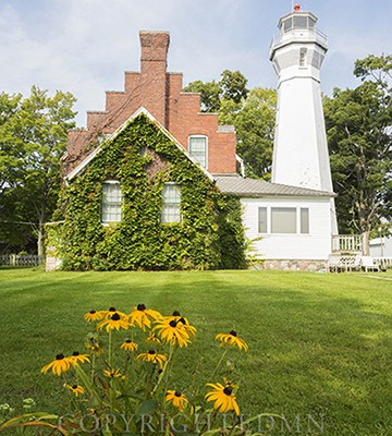 Port Sanilac Lighthouse, Port Sanilac, Michigan 14-color
