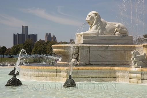 Scott Fountain, Detroit, Michigan 14-color