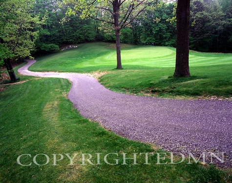 Golf Course, Rothbury, Michigan