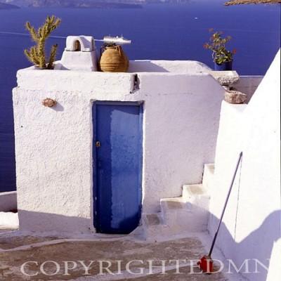 Greek Island Terrace #1, Santorini, Greece 91
