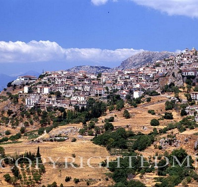 Greek Town & Mountains #2, Greece 91
