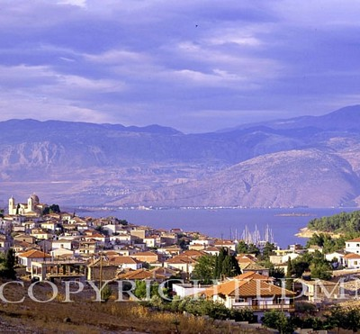 Greek Town & Mountains, Greece 91
