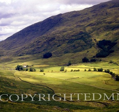 Lake District Valley, England