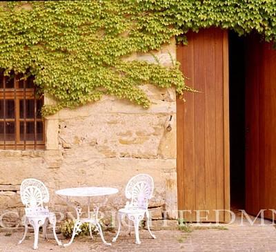 Patio Set, Burgandy, France 99