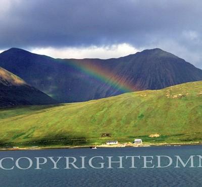 Rainbow & Mountain, Scotland 89