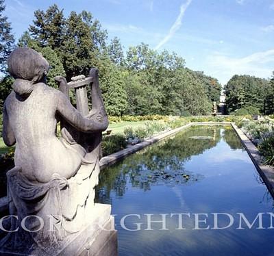 Reflective Pool, Cranbrook, Michigan
