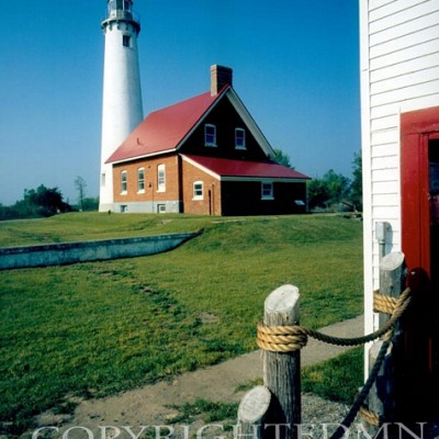 Tawas Point Lighthouse, E. Tawas, Michigan