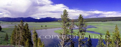 Yellowstone Panorama, Wyoming 95