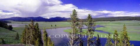 Yellowstone Panorama, Wyoming 95