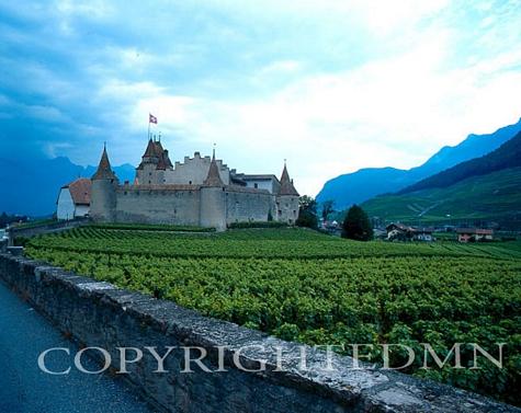 Aigle Castle, Switzerland - Color