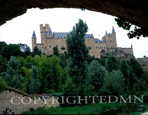 Alcazar Castle, Spain 97 - Color
