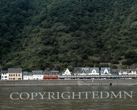 Along The Rhine, Germany 87 - Color