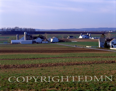 Amish Farm, Pennsylvania - Color