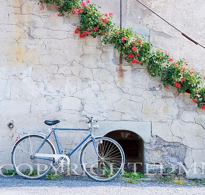 Bicycle #1, Einsiedeln, Switzerland - Color