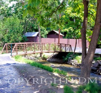 Bridge At The Cider Mill #1, Michigan 06 - Color