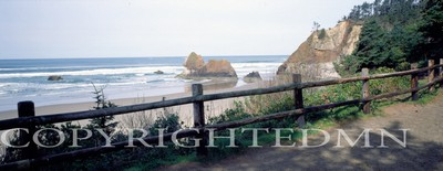 Canon Beach & Fence, Oregon 92