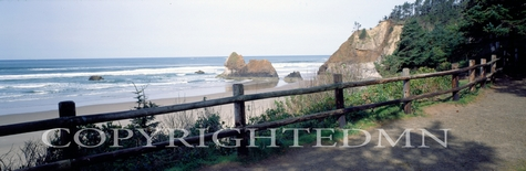 Canon Beach & Fence, Oregon 92