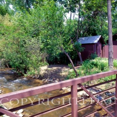 Bridge At The Cider Mill #2, Michigan 06 - Color