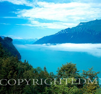 Brienz Lake #1, Switzerland - Color