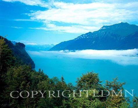 Brienz Lake #1, Switzerland - Color