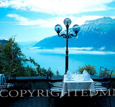Brienz Lake #2, Switzerland - Color