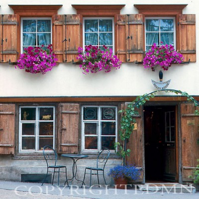 Cafe #2, Appenzell, Switzerland - Color