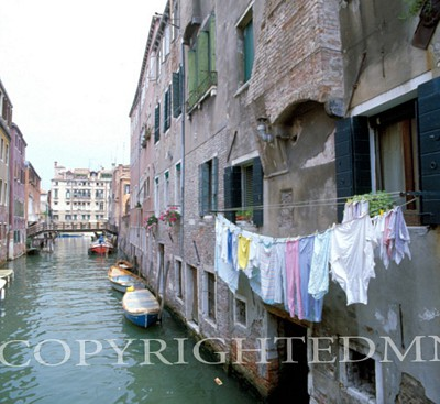Canal View, Italy 87 - Color