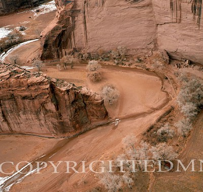Canyon de Chelly, Arizona - Color