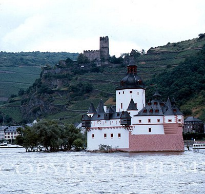 Castle On The Rhine #2, Germany 87 - Color